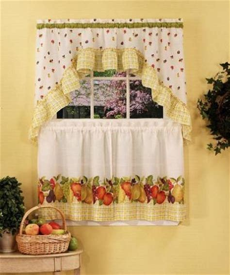 length and styles of your own kitchen curtains curtains design