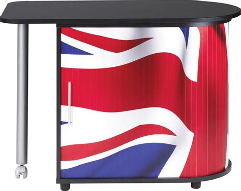 bureau drapeau anglais bureau gain de place table pivotante drapeau