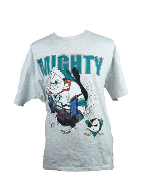 vintage mighty ducks disney  shirt  star vintage