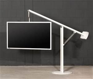 Tv Standfuß Höhenverstellbar : extravaganter tv standfu 40 60 zoll mit h henverstellbarem und drehbaren fernseher tragarm ~ Watch28wear.com Haus und Dekorationen