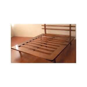 Letto tokyo piazza e mezza letti in legno massello con