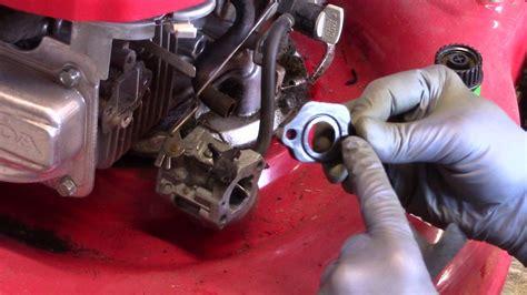 Carb Assembly Honda Gvc Lawn Mower Youtube