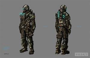 Dead Space 3 concept art is full of suits and weapons | VG247