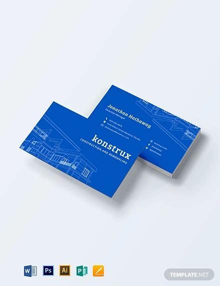 template handyman business card ideas