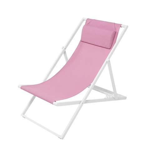 chaise longue en bois et toile chaises longues de jardin marvelous chaise relax lafuma 1