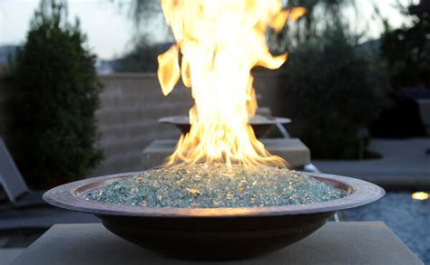 Fire Glass  Schneppa Recycled Crushed Glass