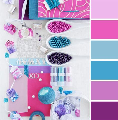 Purple, Magenta, & Turquoise Color Scheme I'm Torn