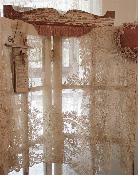 voilage ancien style dentelle 17 best ideas about white lace curtains on lace curtains white lace bedding and