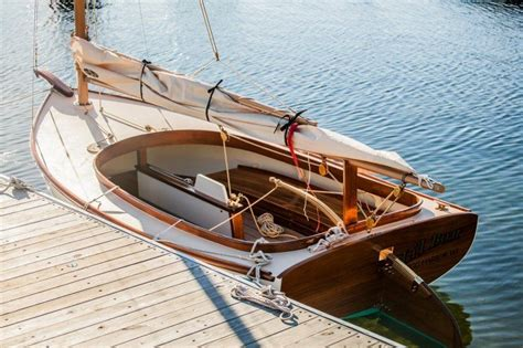 joel white marsh cat  ft boats  pinterest boating wooden boats  wooden boat building