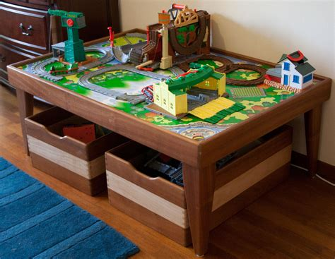 Wooden Train Set Table Plans Ronniebrownlifesystems