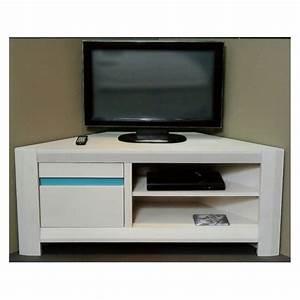 Meuble Tv En Coin : meuble d angle tv meuble de coin pour tv trendsetter ~ Teatrodelosmanantiales.com Idées de Décoration