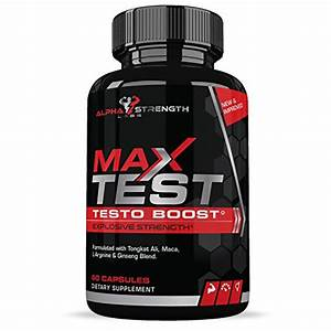 Testosterone Booster For Men  U2013 Natural Supplement For Strength  Weight Loss  Endurance  Best Fat