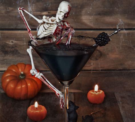 halloween drink haunting halloween cocktail bbc good food