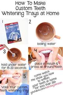 How to Make Your Teeth White at Home