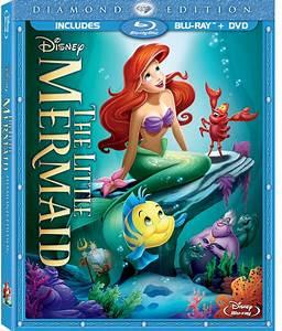 Little Mermaid Ariel Blu Ray Cover Art - Reelmama.com