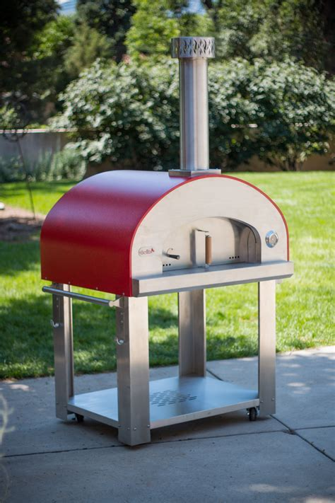 Grande36   Portable Wood Fired Pizza Oven Cart   Bella
