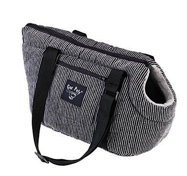 Divano Carrier by Pet Carrier Size Small Divani Black And Grey Or Cat