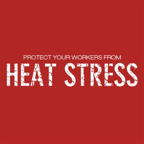 Heat Stress | NIOSH | CDC