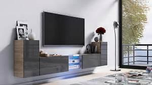 Lowboard Grau Hochglanz : kaufexpert tv lowboard galaxy grau hochglanz sonoma mdf design board hifi tisch beleuchtung ~ Whattoseeinmadrid.com Haus und Dekorationen