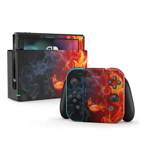 Grab weapons to do others in and supplies to bolster your chances of survival. Nintendo Switch Skin - Flower Of Fire by Gaming | DecalGirl