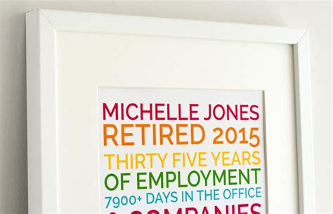 A Personalized Retirement Gift That's Funny And They'll Love