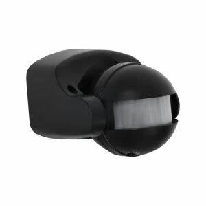 Spot Detecteur De Mouvement : d tecteur de mouvement sur 150 tanche ip44 couleur noir ~ Dailycaller-alerts.com Idées de Décoration