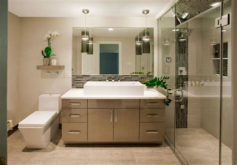 Contemporary Bathrooms Designs & Remodeling Htrenovations