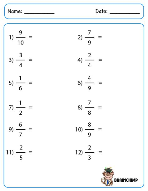 converting fractions to decimals worksheet worksheets for