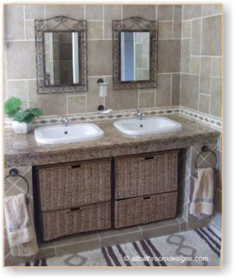 rustic bathroom vanities with a difference