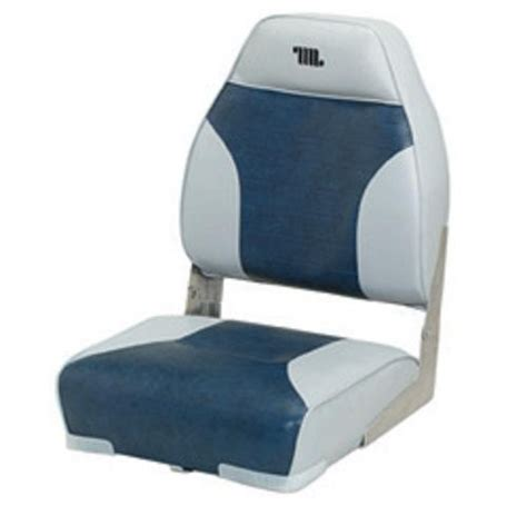 Wise High Back Boat Seat With Logo by High Back Seat For Boat Deck By Wise Review My Water