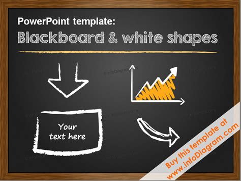 minimalistic pptx template   layouts blackboard