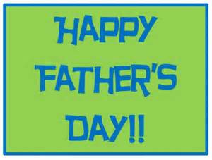 Happy Father's Day Sign