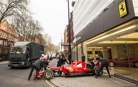 Ferrari Rewards Dealer With An F1 Car But Bedlam Ensues