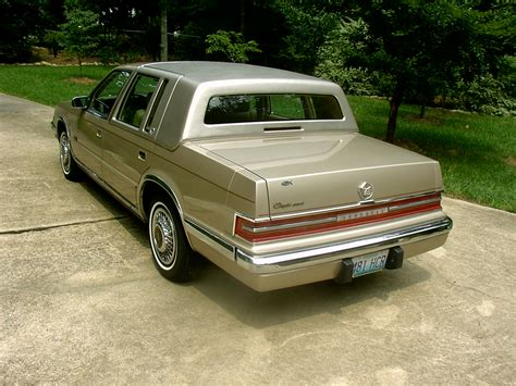 Chrysler Imperial Bush by 1991 Chrysler Imperial Information And Photos Zomb Drive