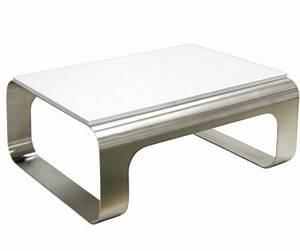 Petite Table Basse : petite table basse inox table basse design ~ Teatrodelosmanantiales.com Idées de Décoration