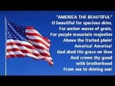 America The Beautiful Song Instrumental Katharine Lee ...