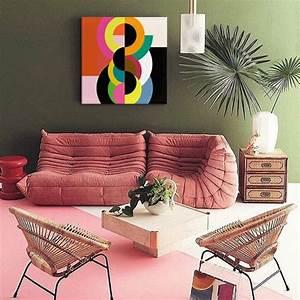 Toile Deco Salon : d coration murale kaki blog izoa ~ Teatrodelosmanantiales.com Idées de Décoration
