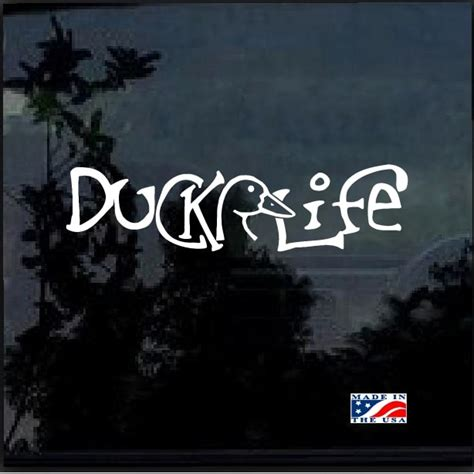 foto de Duck Life A1 Hunting Window Decal Sticker Custom Sticker