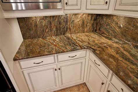 rainforest green granite kitchen traditional kitchen