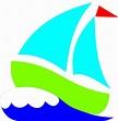 Green Sailboat Clip Art at Clker.com - vector clip art ...