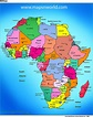 Africa Map And Other Free Printable International Maps