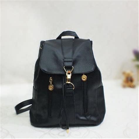jual tas 2913 korean style backpack tas ransel wanita bahan kulit sintetis di lapak vhina store