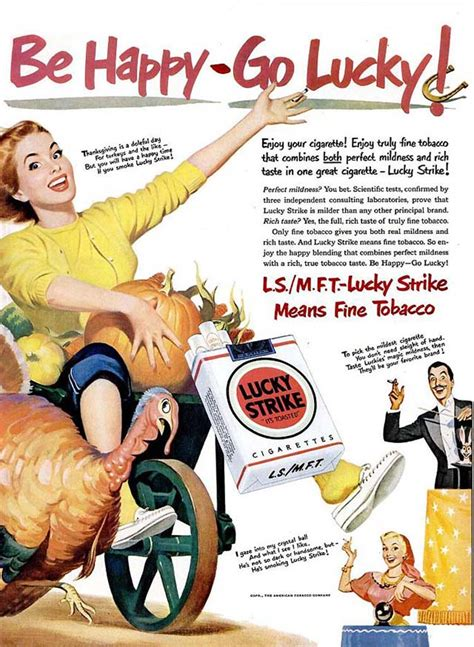 strangefunny vintage ads  thanksgiving   retro