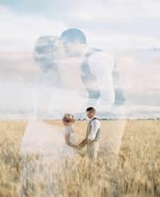 Double Exposure Wedding Photography