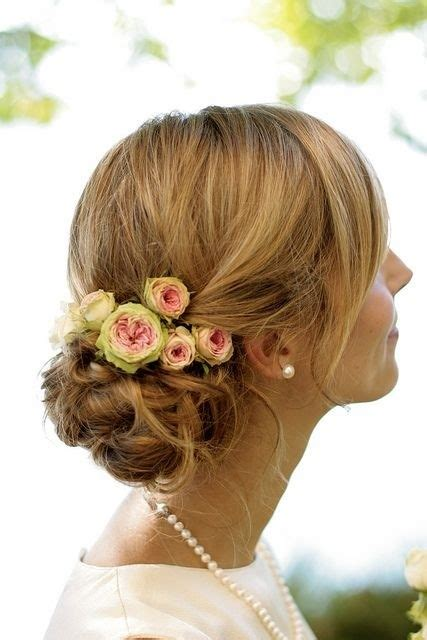 Flower Updo Hairstyles by 25 Best Hairstyles For Brides Styles Weekly