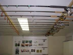 Ceiling Mounted Fishing Rod Holder Plans fishing pole ceiling rack plans woodworking projects amp plans