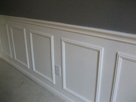 Wainscoting Square Panels by Wainscoting Success How To Install Wainscoting Without