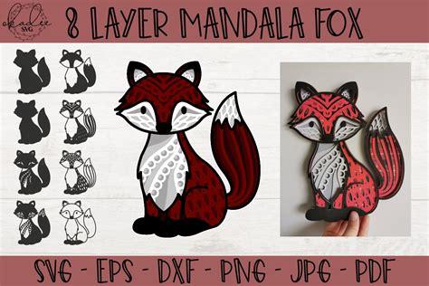 3d layered mandalas how to multilayer mesmerize jennifer maker. 3D Mandala Fox SVG, Layered Mandala SVG, Forest SVG, Fox ...