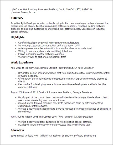 agile methodology testing resume annecarolynbird