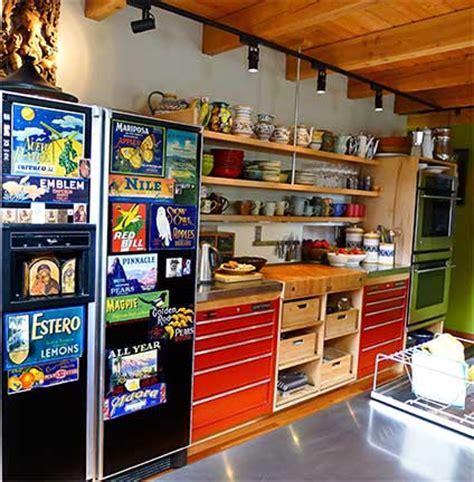 artist creates inspirational kitchen  unique materials laurie constantino